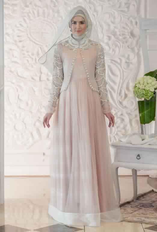 robe de fiancaille femme voilée14