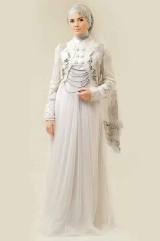 robe de fiancaille femme voilée16