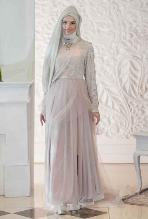 robe de fiancaille femme voilée3