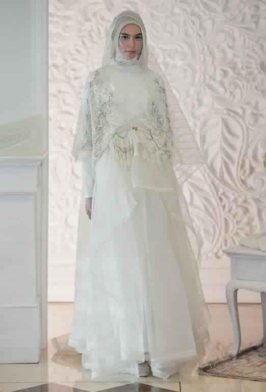 robe de fiancaille femme voilée6