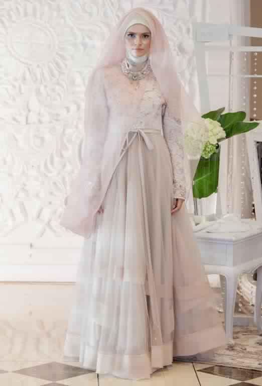 robe de fiancaille femme voilée8