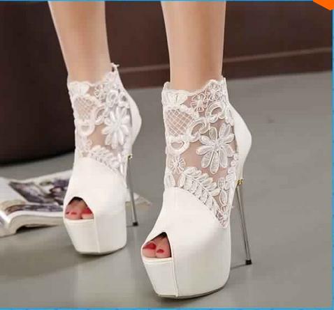 Chaussures Talons De Mariée