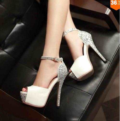 Chaussures Talons De Mariée11