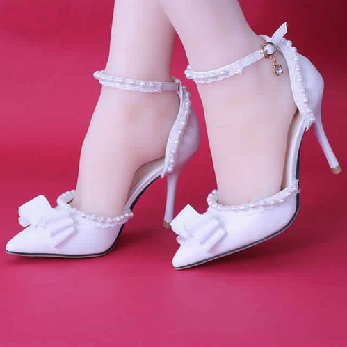 Chaussures Talons De Mariée5