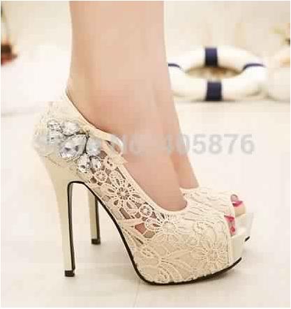 Chaussures Talons De Mariée8