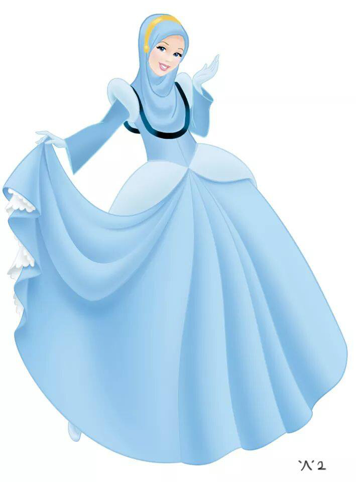 Les Princesses Disney Voilées Crée le Buzz10