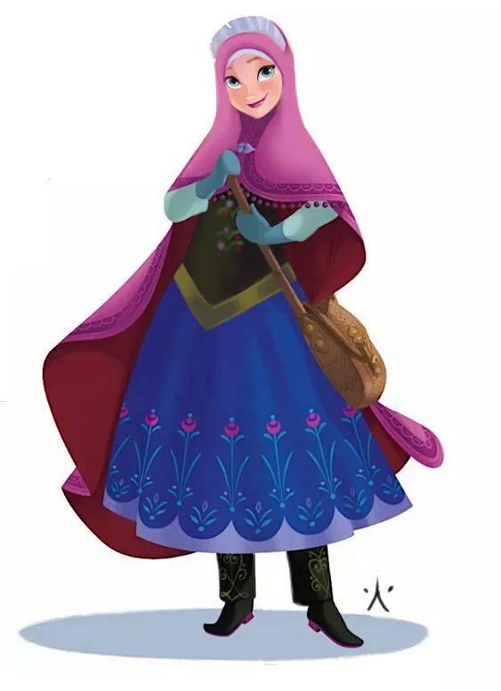 Les Princesses Disney Voilées Crée le Buzz3