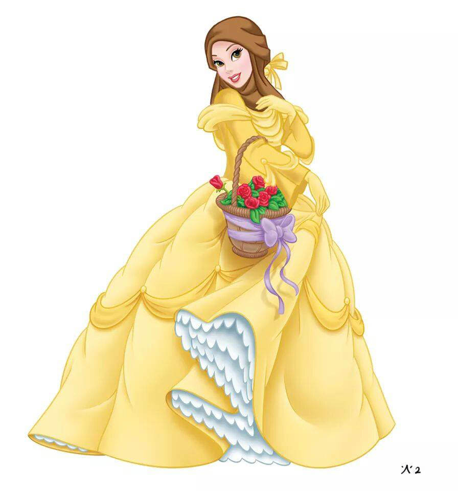 Les Princesses Disney Voilées Crée le Buzz6