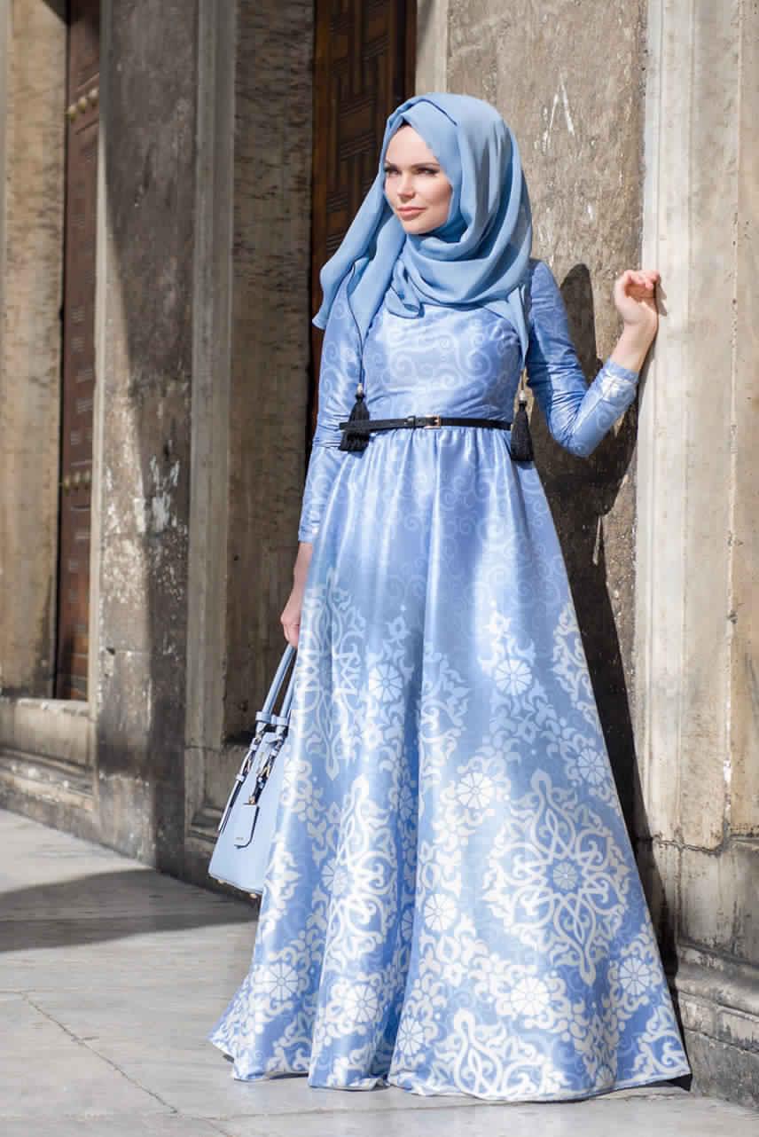Robe De Jours Pour Femme Voilée11