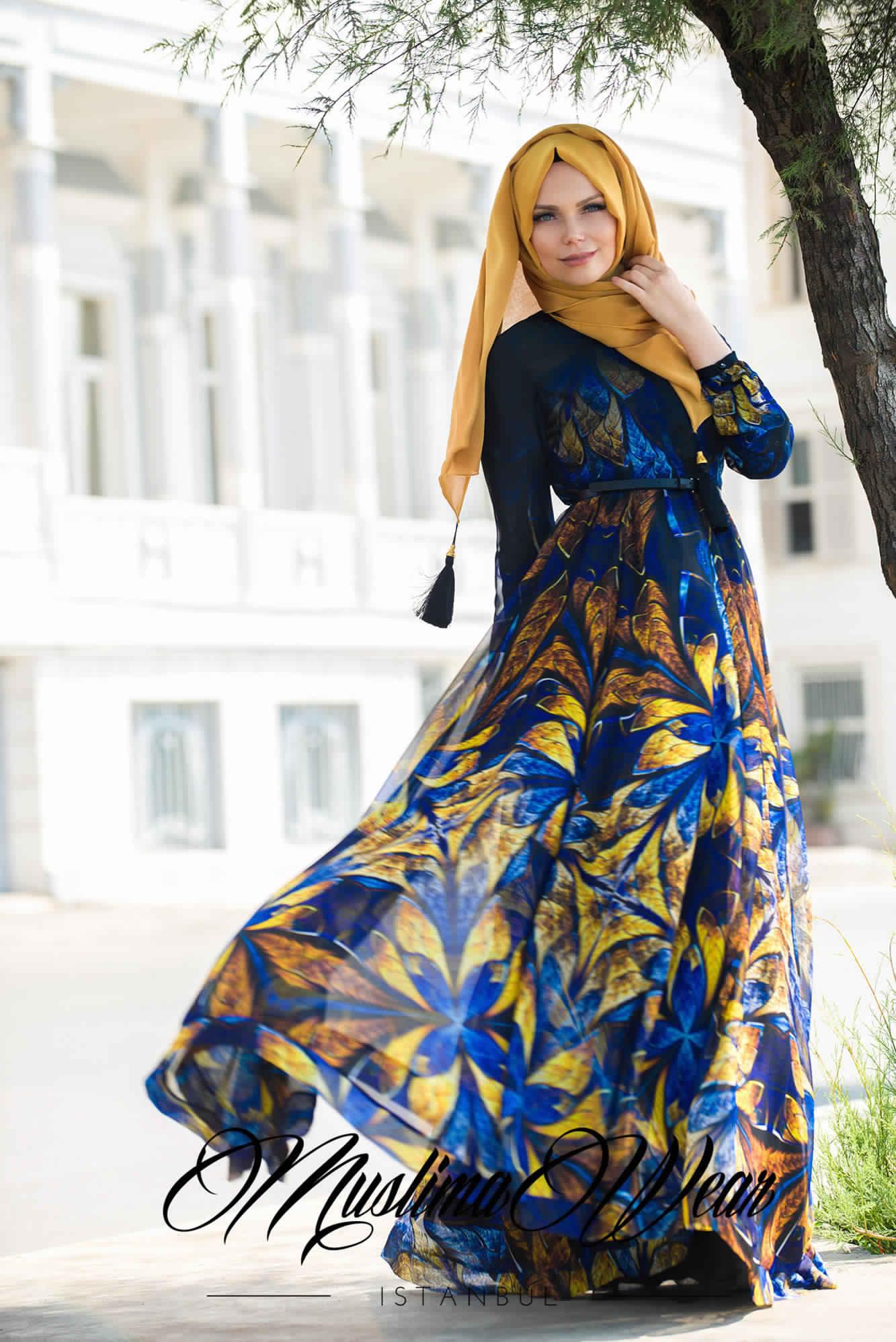 Robe De Jours Pour Femme Voilée2