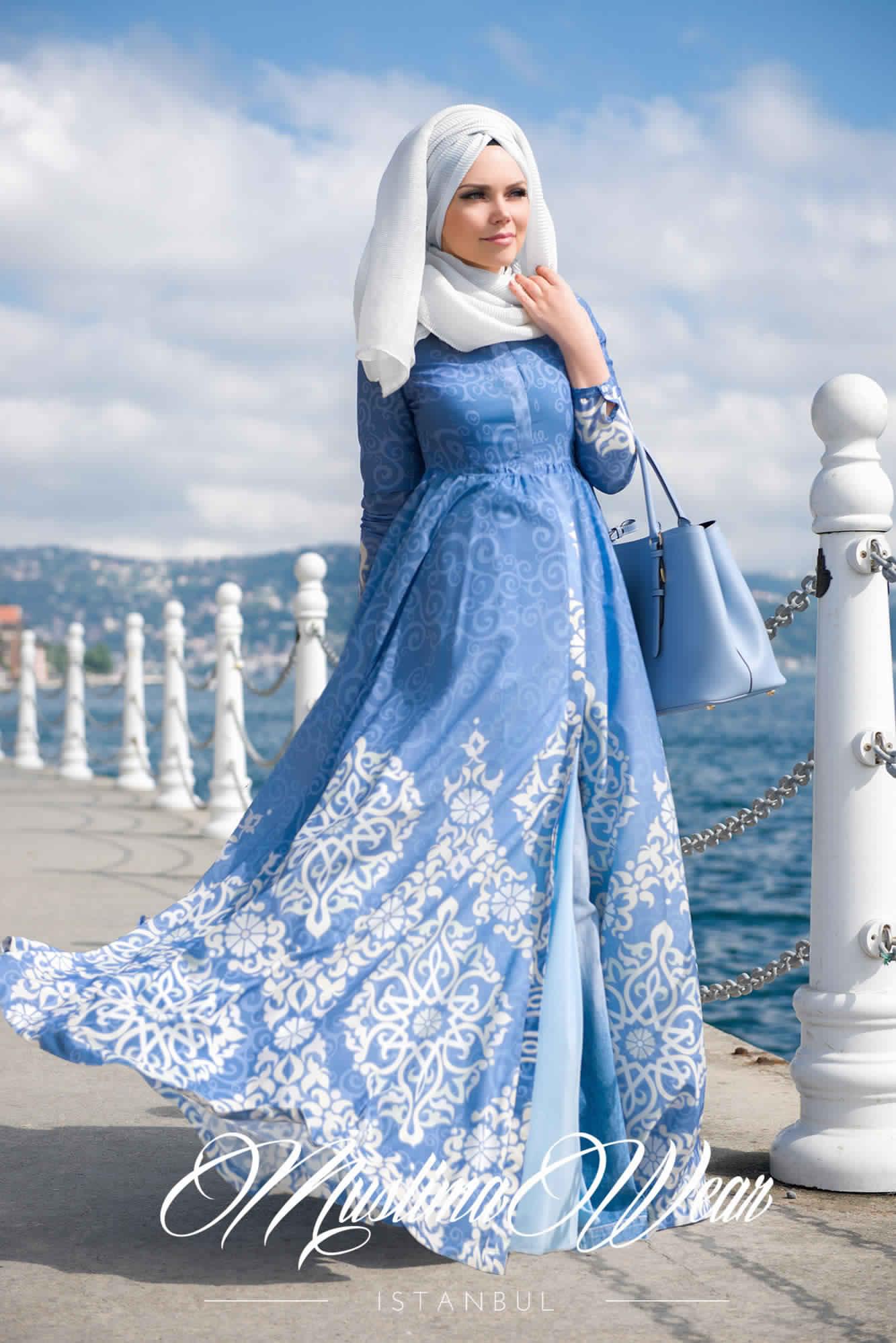Robe De Jours Pour Femme Voilée3