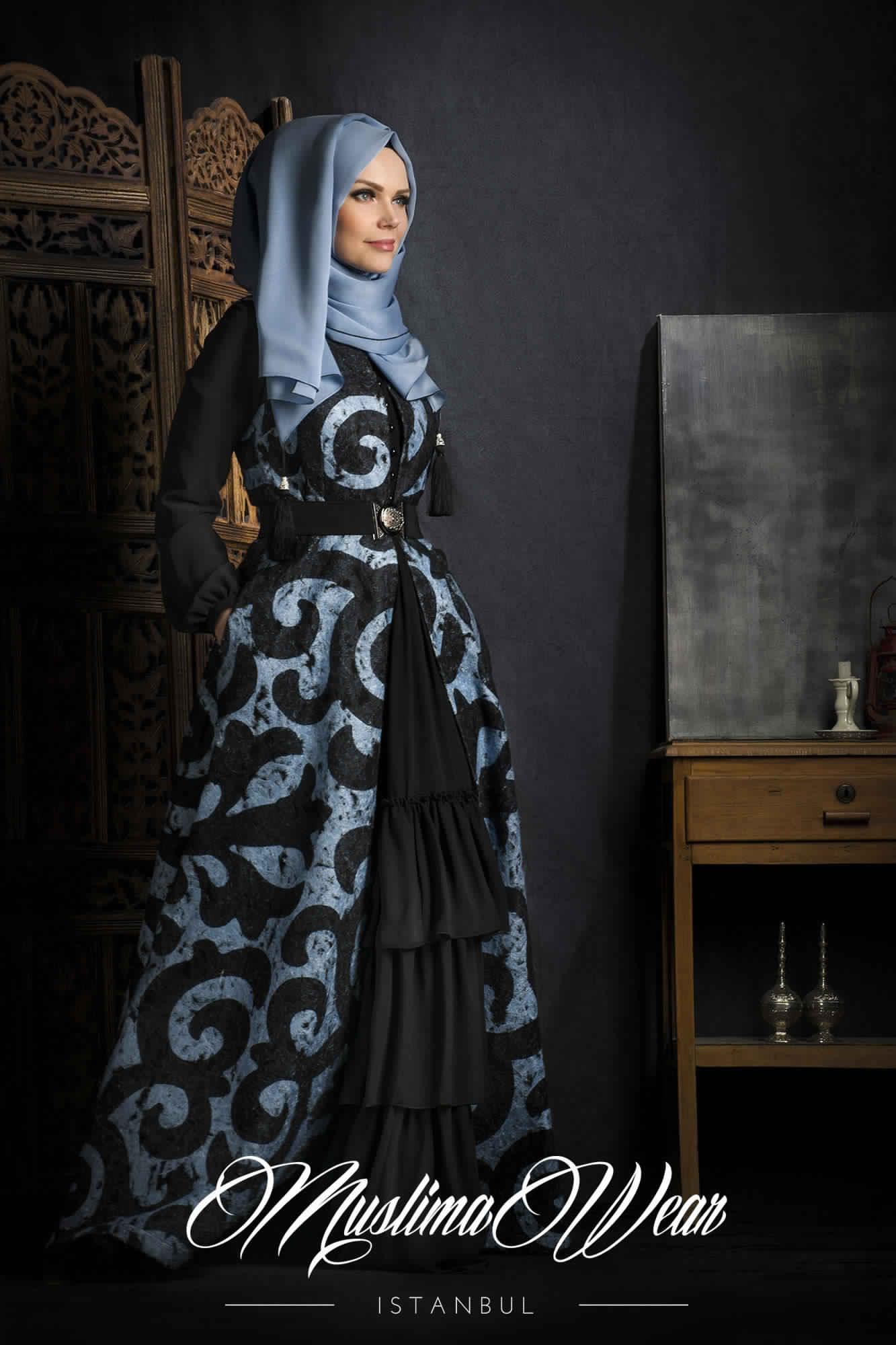 Robe De Jours Pour Femme Voilée4