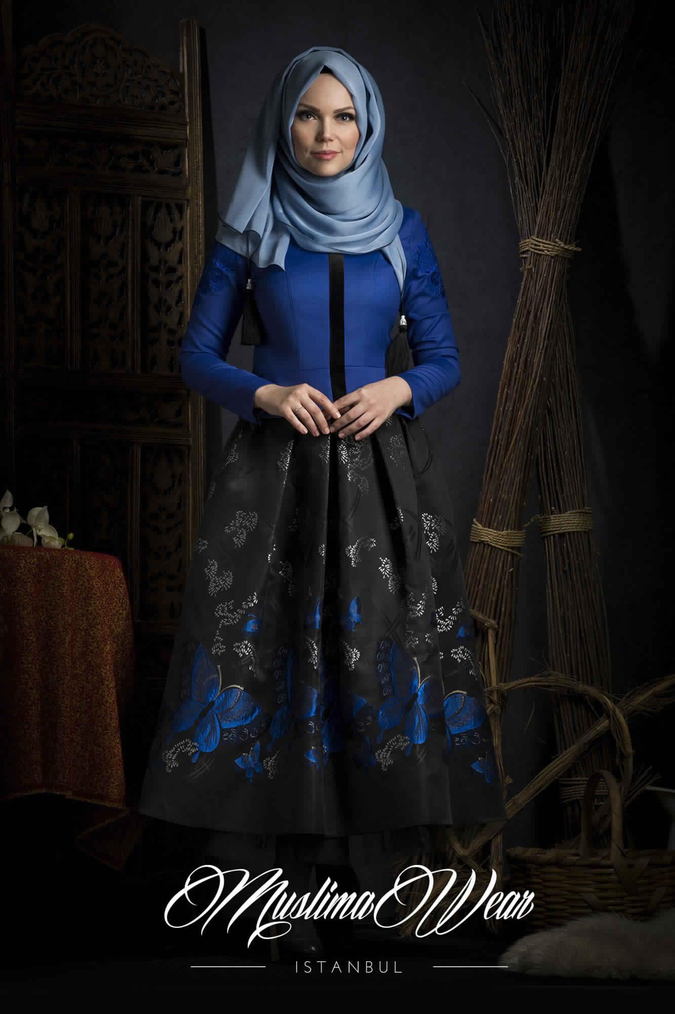 Robe De Jours Pour Femme Voilée5