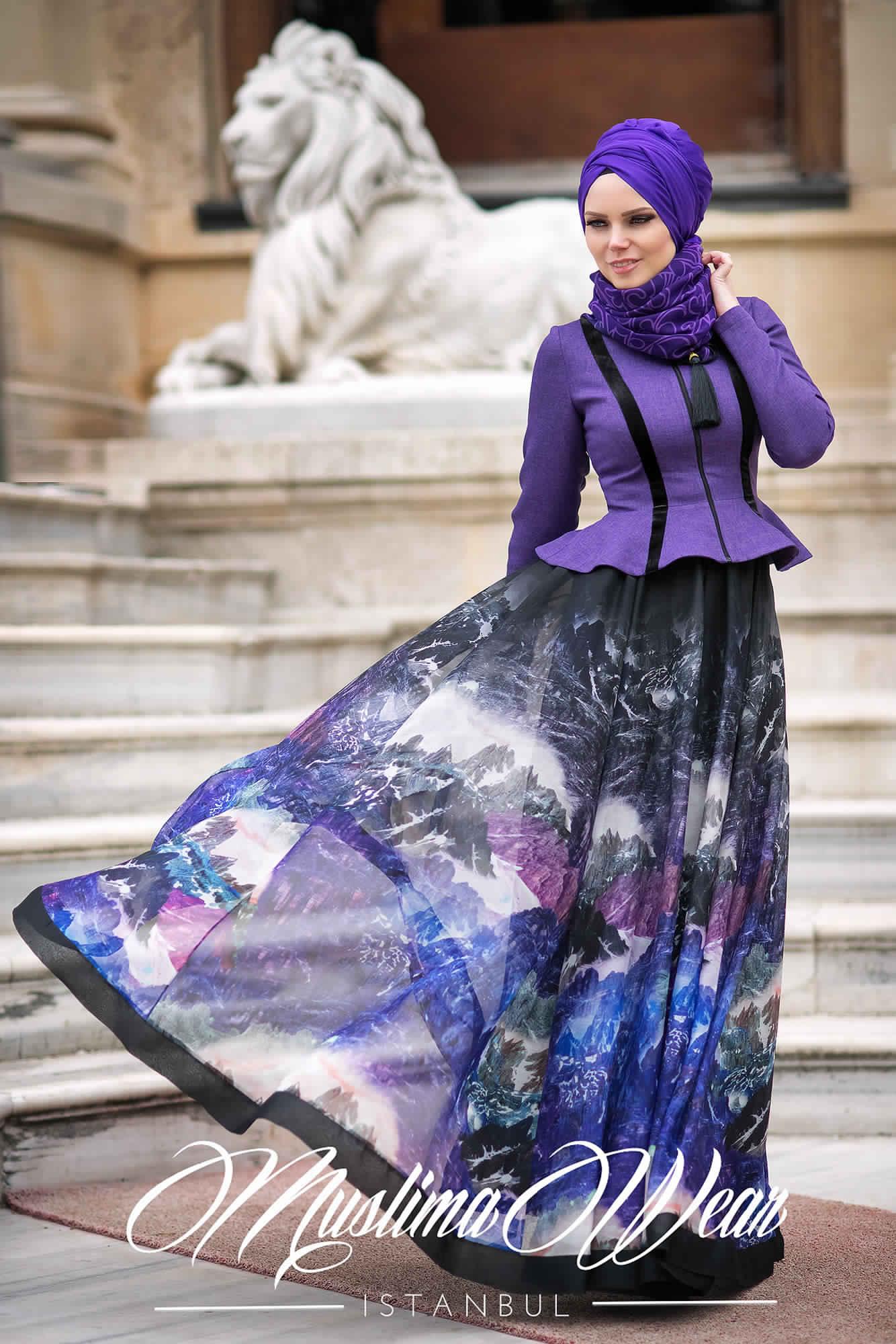 Robe De Jours Pour Femme Voilée8