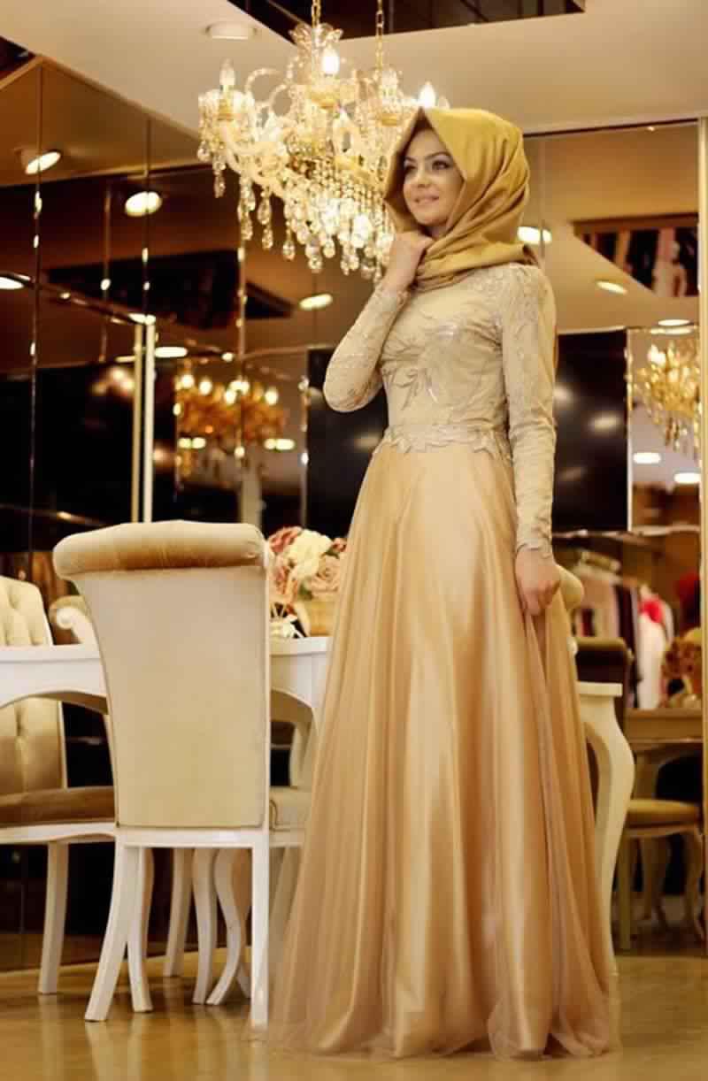 Robes Femmes Voilées De Soirée ٥