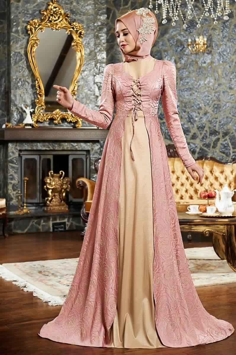 Robes Femmes Voilées De Soirée 10