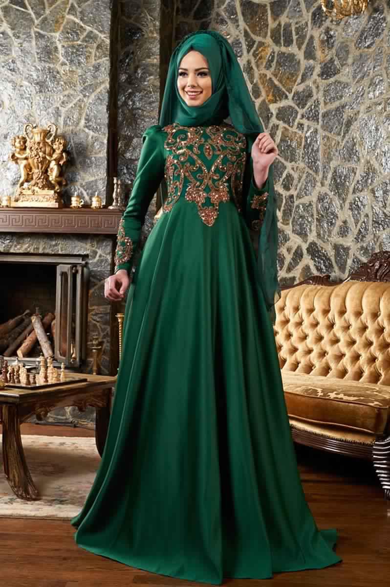 Robe de soiree chic pour femme voilee