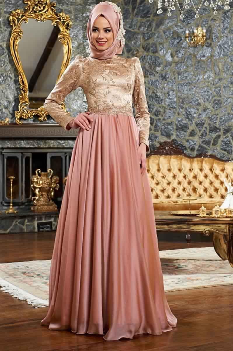 Robes Femmes Voilées De Soirée 12