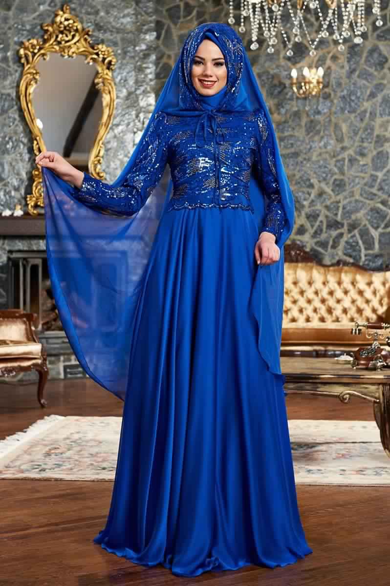 Robes Femmes Voilées De Soirée 13