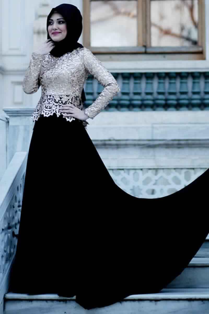 Robes Femmes Voilées De Soirée 16