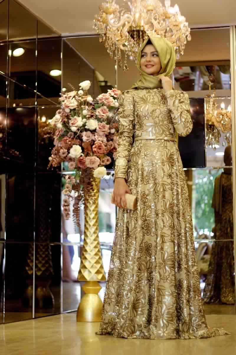 Robes Femmes Voilées De Soirée 2