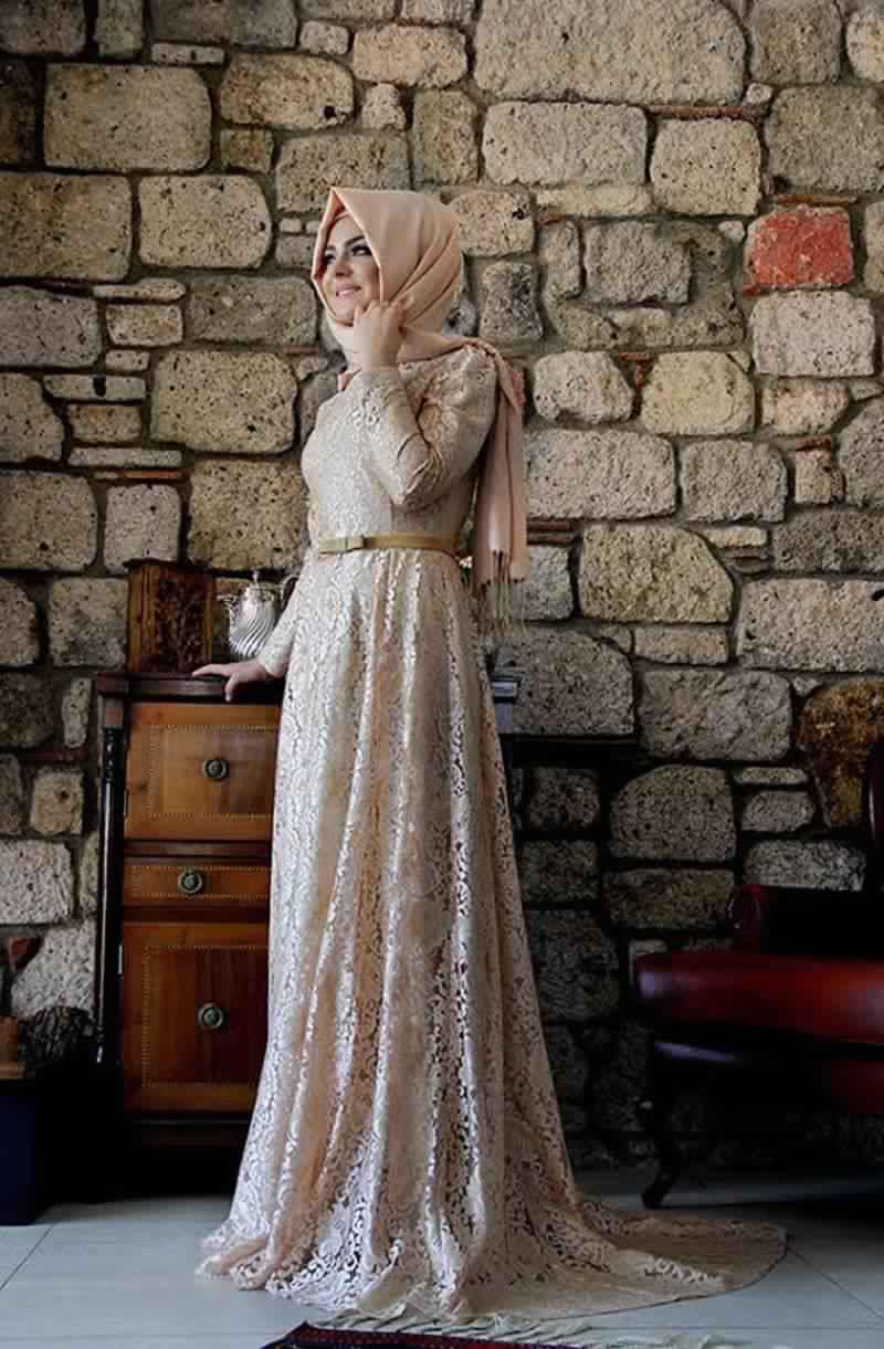 Robes Femmes Voilées De Soirée 3