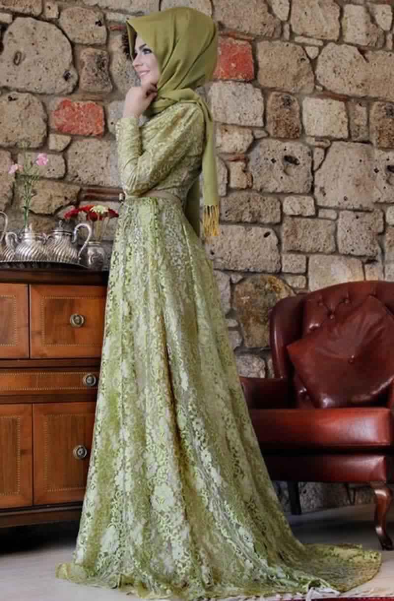Robes Femmes Voilées De Soirée 4
