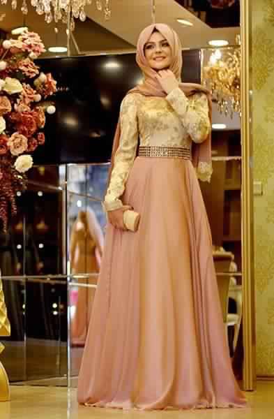 Robes Femmes Voilées De Soirée 7