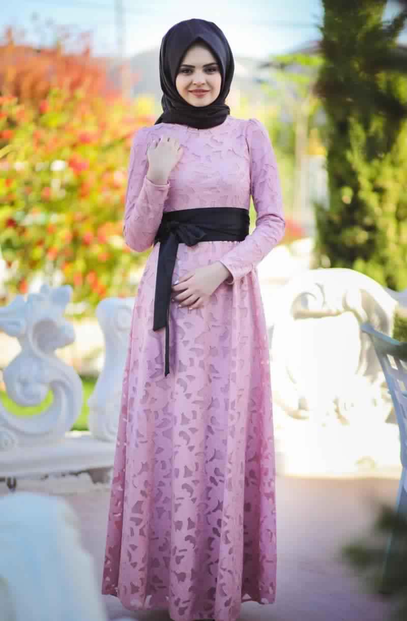Robes Femmes Voilées De Soirée 8