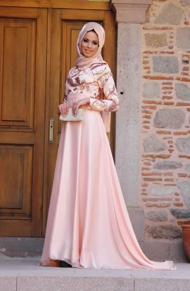 Robes Femmes Voilées De Soirée 9