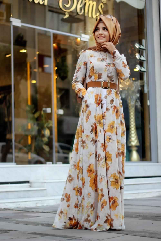 Robes Longues Imprimées Fleurs1