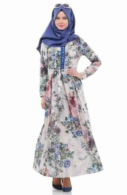 Robes Longues Imprimées Fleurs2