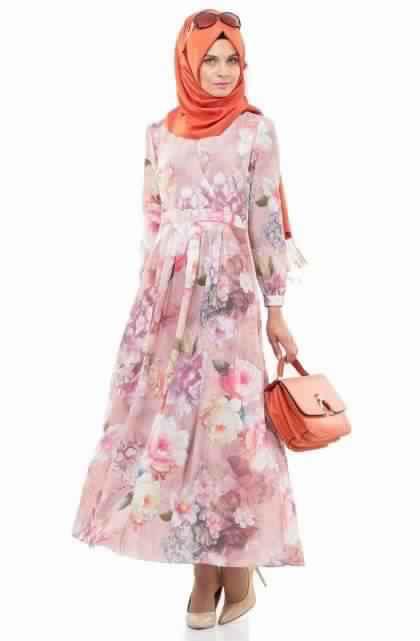 Robes Longues Imprimées Fleurs3