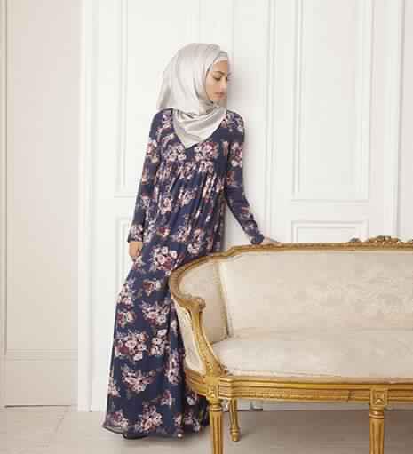 Robes Longues Imprimées Fleurs4