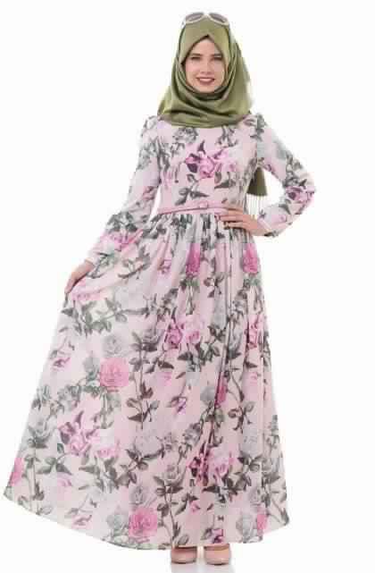 Robes Longues Imprimées Fleurs6