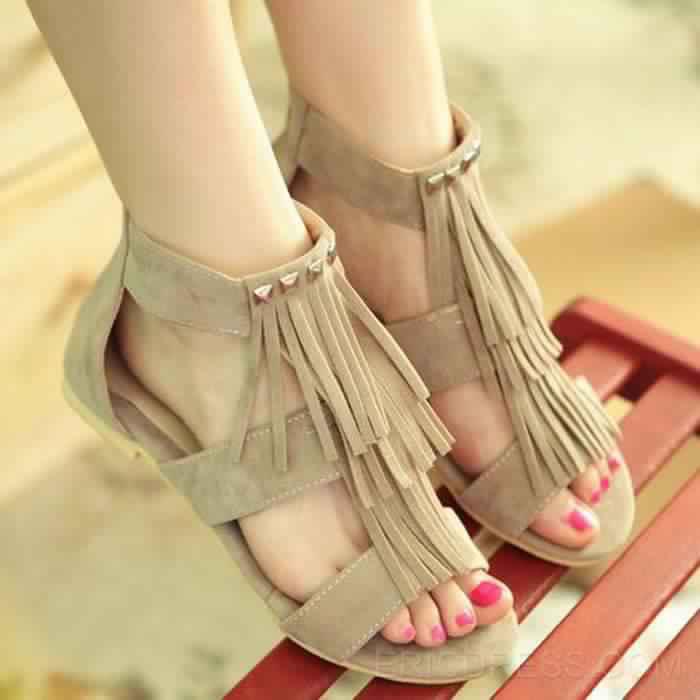 Sandales Plates1