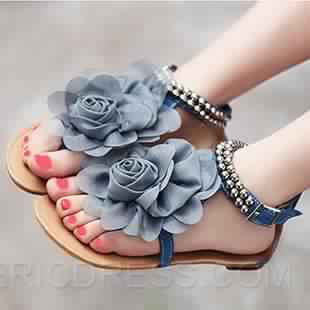 Sandales Plates10