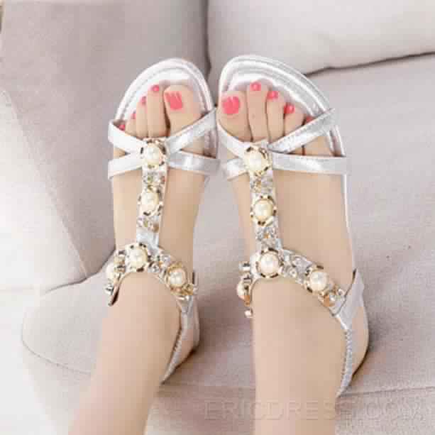 Sandales Plates14