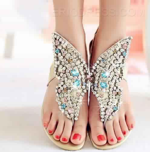 Sandales Plates16