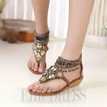 Sandales Plates17
