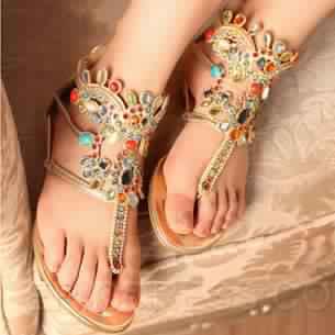 Sandales Plates19