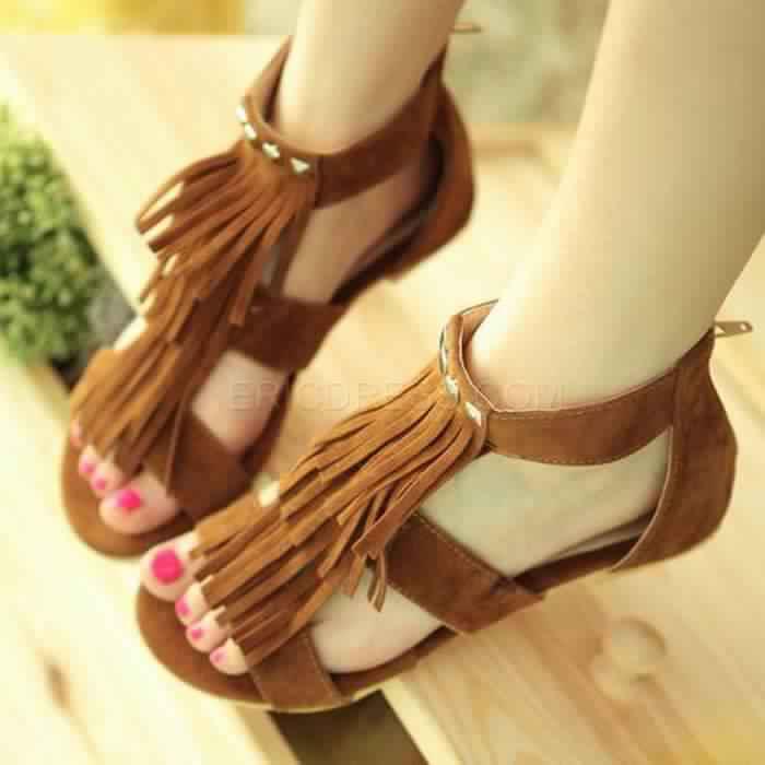 Sandales Plates2