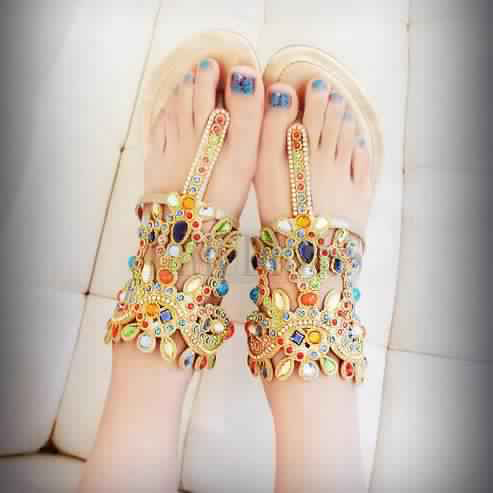 Sandales Plates20