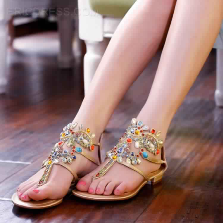 Sandales Plates21