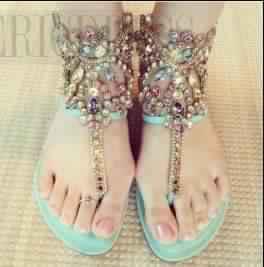 Sandales Plates22