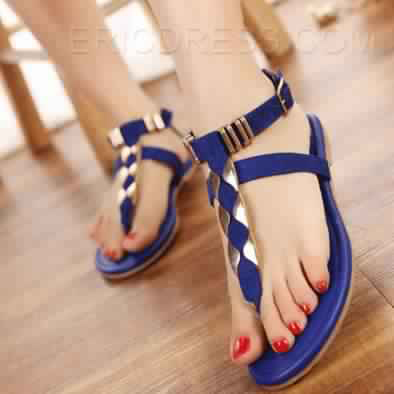 Sandales Plates23