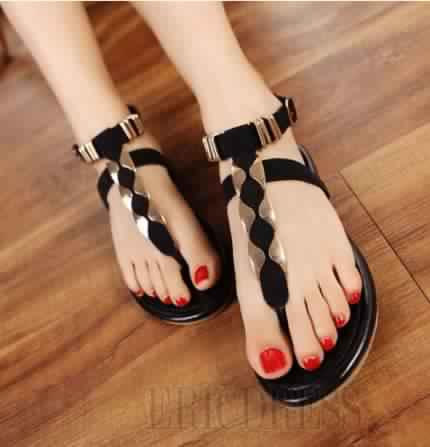 Sandales Plates24