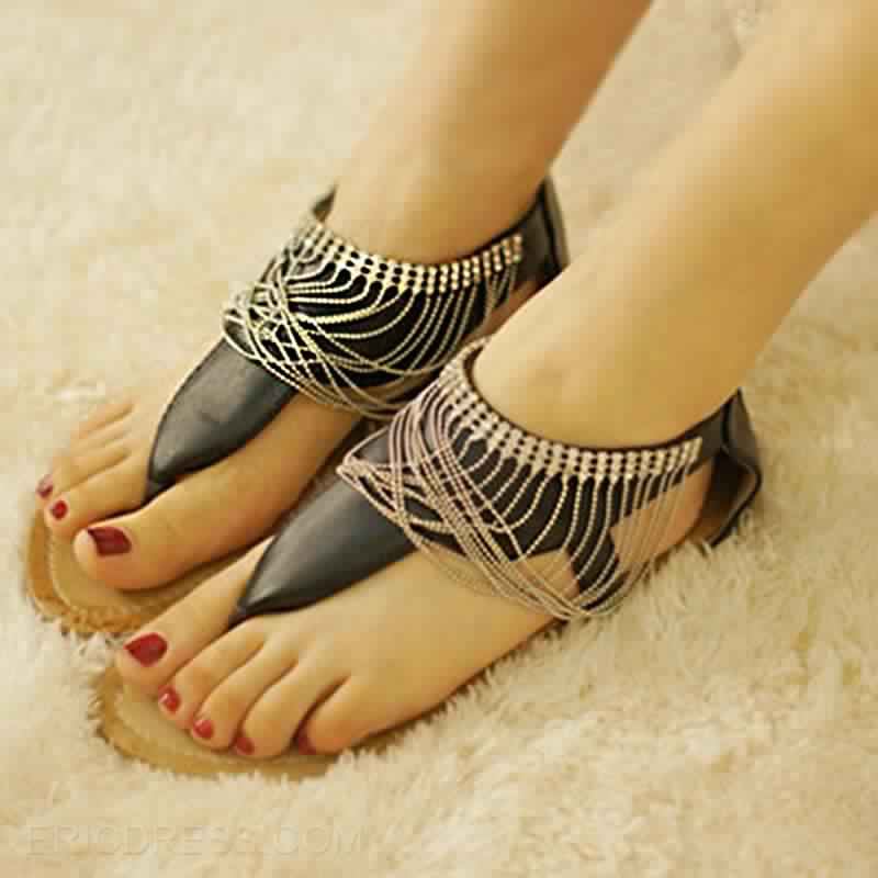 Sandales Plates4