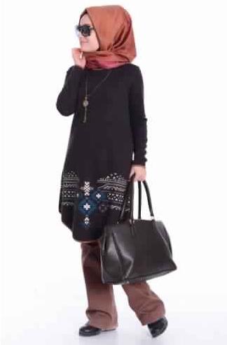 Tunique femme voilée2