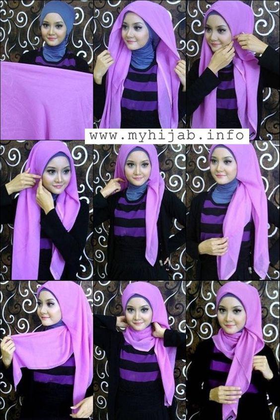Tutoriels De Hijab33